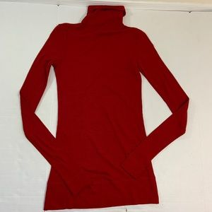 Fendi Wool Turtleneck Sweater Mothholes Italy 40 M